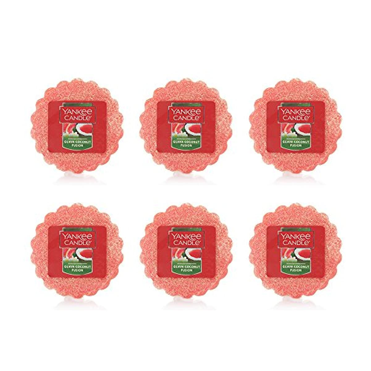 再集計うなずくファックスYankee Candle Lot of 6 Guava Coconut Fusion TartsワックスMelts