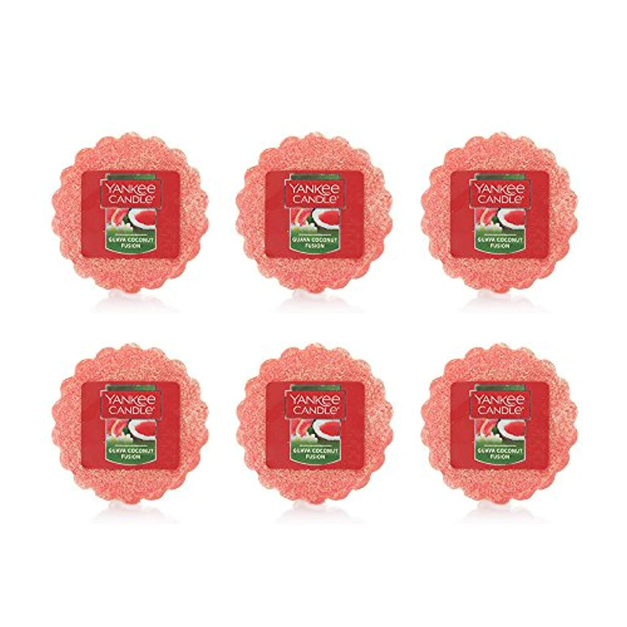 Yankee Candle Lot of 6 Guava Coconut Fusion TartsワックスMelts