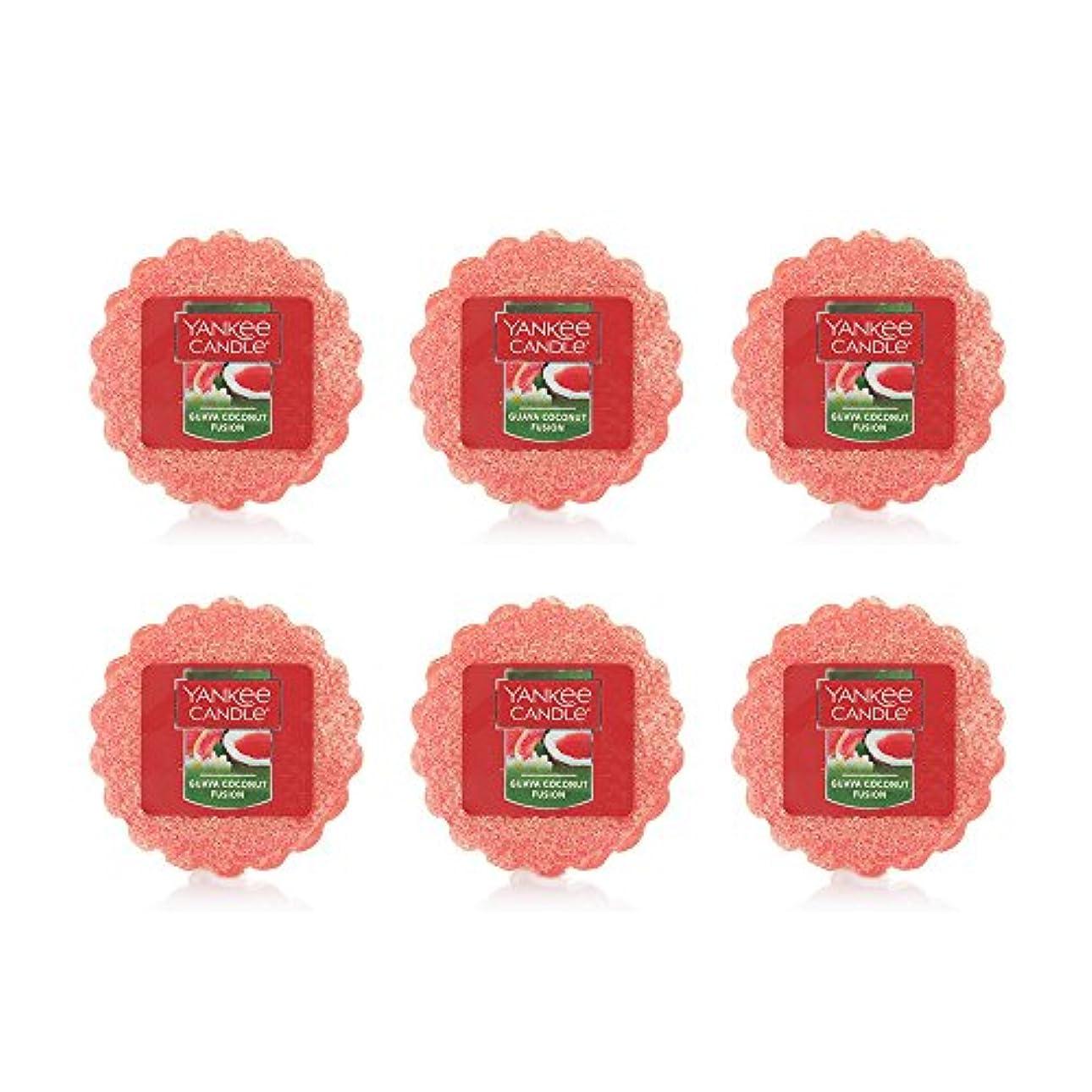 最も遠いおびえたさびたYankee Candle Lot of 6 Guava Coconut Fusion TartsワックスMelts