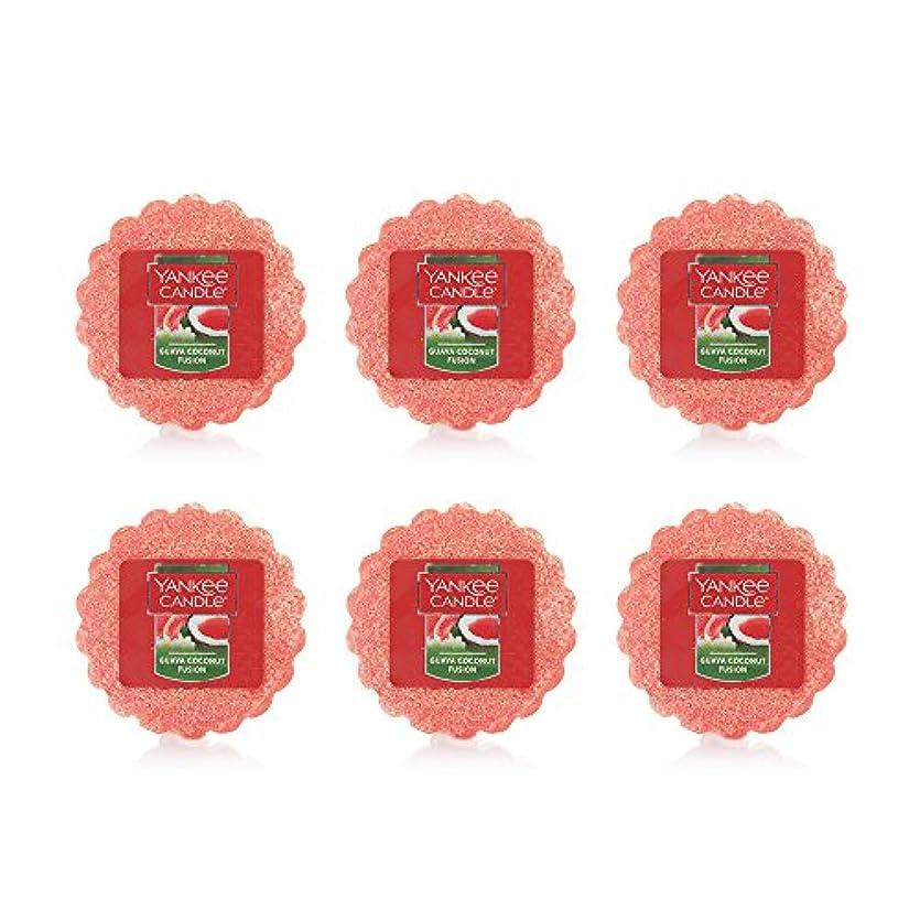 消化器心配シャープYankee Candle Lot of 6 Guava Coconut Fusion TartsワックスMelts