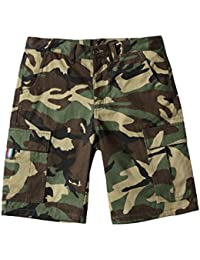 メンズ 夏 短パンツ 細身 迷彩柄 柔らかい パンツ 快適 薄い ゆったり おしゃれ ショートパンツ ジョガー スポーツ 通学 旅行 カモフラージュパンツ 綿 大きいサイズ