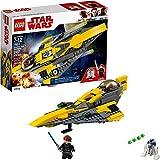 LEGO Star Wars Anakin's Jedi Starfighter Building Kit (247 Piece), Multicolor
