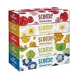 (お徳用10セット)スコッティ ティシュー フラワーボックス 320枚(160組)×5個パック×10セット