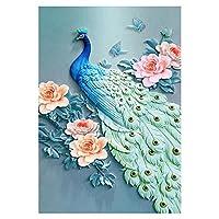 Hillrong 刺繍キット ダイヤモンド塗装 DIYクロスステッチキットダイヤモンド絵画 ラウンドドリル クリスタル ラインストー