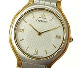 セイコー クレドール レディース腕時計 SS×18KT コンビ クオーツ アイボリー文字盤 [中古]