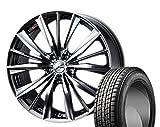 [235/55R20]GOODYEAR / ICE NAVI SUV スタッドレス [2/-][Weds / LEONIS VX (BMC) 20インチ] スタッドレス&ホイール4本セット ムラーノ(Z51系)