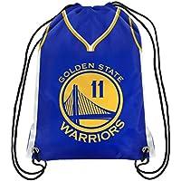 NBA Golden State Warriors Klay Thompson Unisex Bpnbdsplgsktplayer Drawstring Backpack, 46cm . x 34cm .
