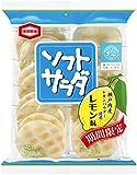 亀田製菓 ソフトサラダレモン味 18枚×12袋
