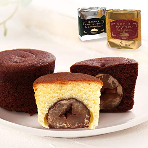 大粒栗のマロンケーキ ロアドマロン 単品 お菓子 プチギフト 個包装
