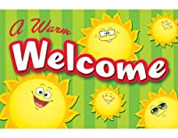 Teacher Created Resources Happy Suns Welcome Postcards (5461) [並行輸入品]