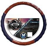 錦産業 ハンドルカバー ハイグリップウッド Mサイズ ブラウンウッド HW-0884