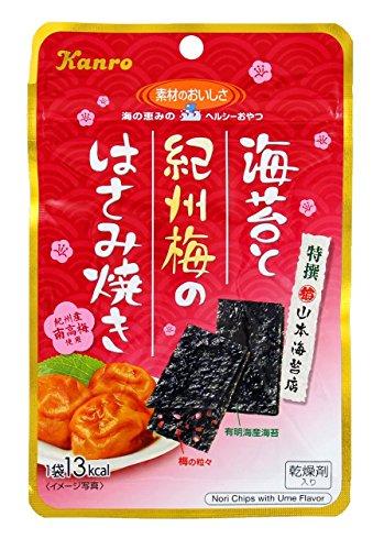 カンロ 海苔と紀州梅のはさみ焼き 6袋