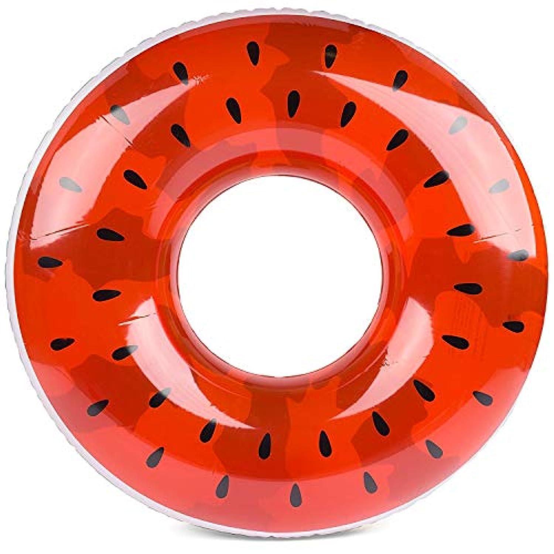 浮き輪 大人用 直径70cm 可愛い スイカ プール 海 (xi-gua30)