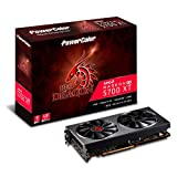 PowerColor Red Dragon Radeon Rx 5700 Xt 8GB GDDR6 Graphics Card (AXRX 5700XT 8GBD6-3DHR/OC)