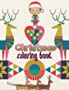 Christmas coloring book: An Adult Coloring Book with Fun, Easy, and Relaxing Designs Paperback