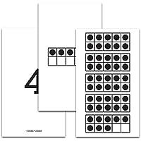 Didax (3パック) 10枚フレーム 50枚のカード