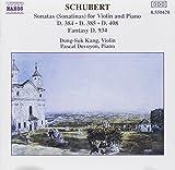 Violin Sonatas / Fantasy by SCHUBERT (1994-02-15) 画像