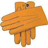 コルクトラファルガーカシミア裏地Peccaryレザー手袋をDents