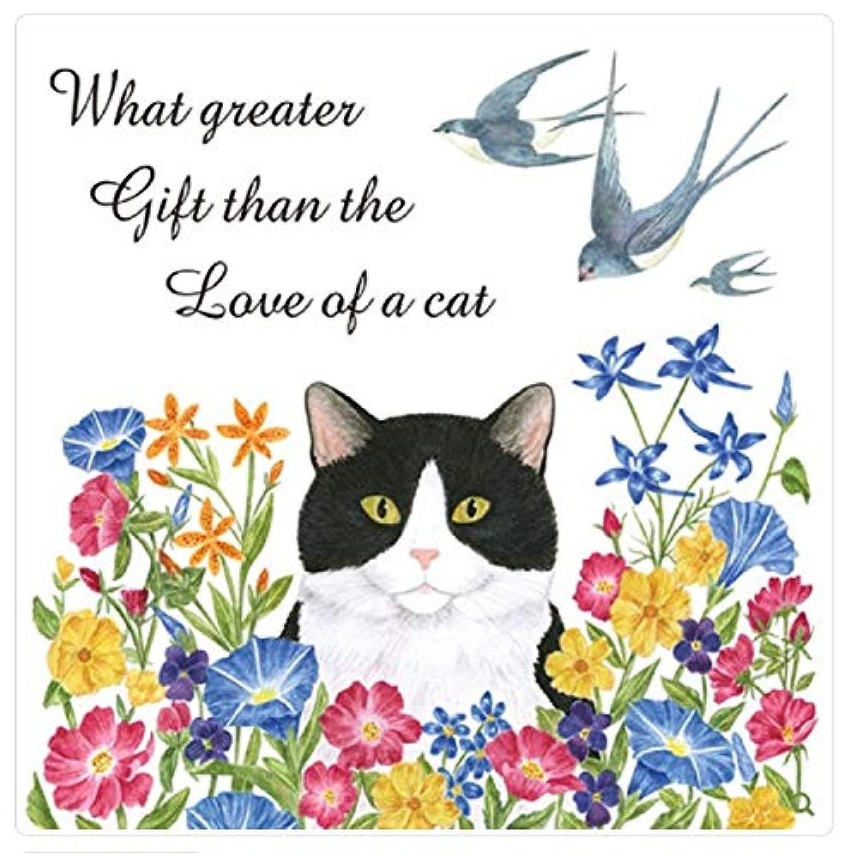 アリス?コテージ?キャット フラワーズ The Love of a Cat フラワーサックタオル