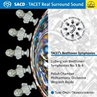 TACET's Beethoven Symphonies: Symphonies No. 3 & 4 by Polish Chamber Philharmonic Orchestra (2010-02-15)