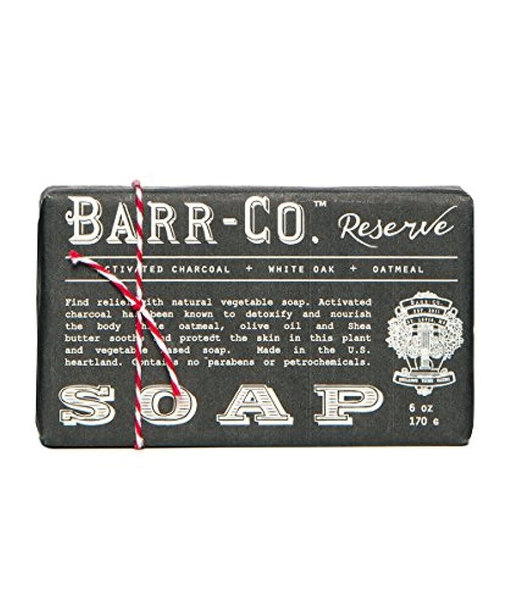 頬骨傾いた悪用バーコ(BARR-CO.) バーソープ リザーブ