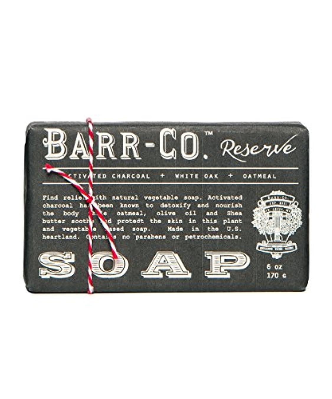 暗い舌な幅バーコ(BARR-CO.) バーソープ リザーブ