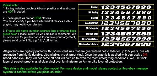 カンフー グラフィック(Kungfu Graphics) ヤマハ 2012 2013 2014 2015 Yamaha WR450F 専用 グラフィックキット コンプリートセット