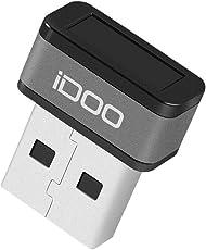 iDOO USB指紋認証リーダー Windows Hello指紋認証リーダー 指紋認証USB ATkey Hello My Lockey 個人情報守る フォルダーをファイル暗号化 360°タッチ高速読込 Windows Hello Windows7/8/8.1/10多機種対応【メーカ保証1年】