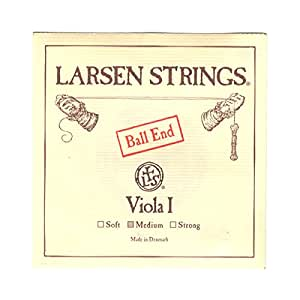 LARSEN STRINGS ( ラーセン ストリングス ) 弦 A スチール / クロムスチール巻 ボールエンド Viola ( ヴィオラ ) 用