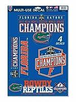 Florida Gators 2017NCAA CollegeワールドシリーズCWS Champions 4デカールシートセット