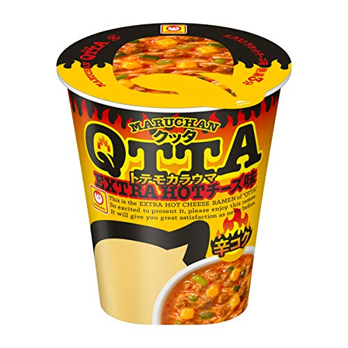 MARUCHAN QTTA(クッタ)EXTRA HOT チーズ味の通販の画像