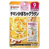 ピジョン 食育レシピ チキンかぼちゃグラタン 80g【3個セット】