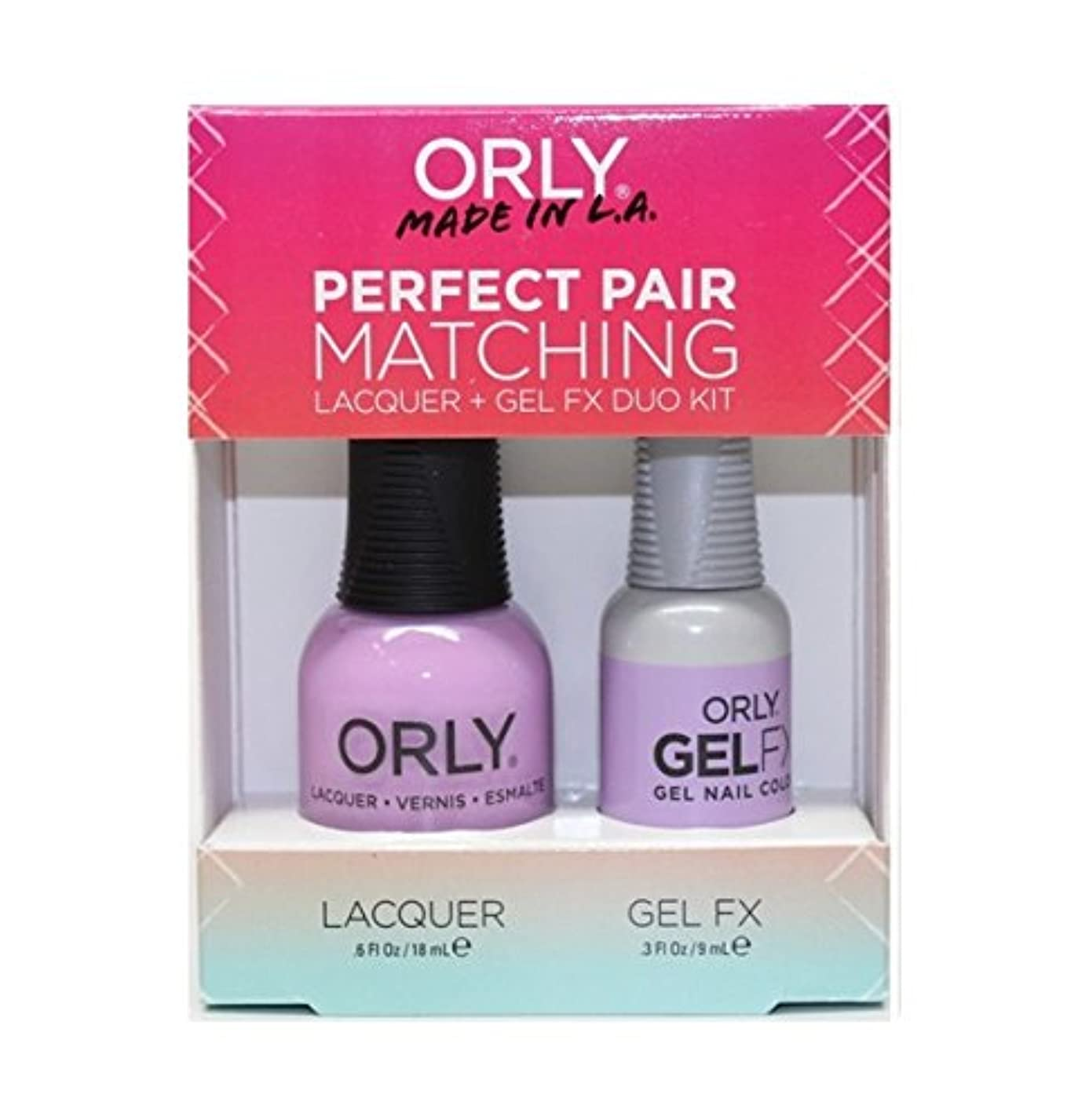 海賊継承むちゃくちゃOrly - Perfect Pair Matching Lacquer+Gel FX Kit - As Seen on TV - 0.6 oz / 0.3 oz