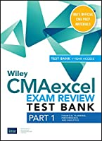 Wiley CMAexcel Learning System Exam Review 2020 Test Bank: Part 1, Financial Planning, Performance, and Analytics (1-year access)