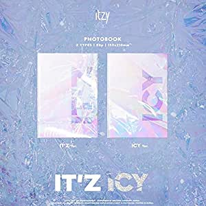 ITZY - IT'Z ICY (2アルバムセット+2折りたたみポスター) + GIFT[メンバーフォトカード5枚]