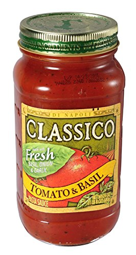 クラシコ トマト&バジル 680g 1個