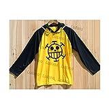 コスプレ衣装 ONE PIECE ワンピース トラファルガー・ロー風ジャージ バーカー Lサイズ コスチューム