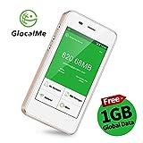 GlocalMe G3 モバイル Wi-Fi ルーター ホットスポット 高速4G LTE simフリー グローバル対応 100ヶ国以上フリーローミング お盆 国内・海外旅行最適 スマートフォン・タブレット・パソコン全機種対応 4.0インチタッチスクリーン 内蔵5350mAh大容量のモバイルバッテリー micro usb付け pocket wifi 超軽くて携帯便利(ゴールド)