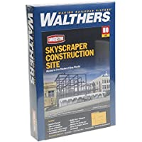 Walthers , Inc。Skyscraper Construction Siteキット、8 – 5 / 8 x 10 – 9 / 16 x 5 – 3 / 4