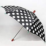 ラウンドドットアンブレラ / Round dot umbrella black ---- パラソル生産 / Parasol Production / マジックトリック/魔法; 奇術; 魔力