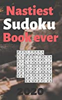 nastiest sudoku book ever: best sudoku puzzle books for adults 5x8 inches 100 total puzzles