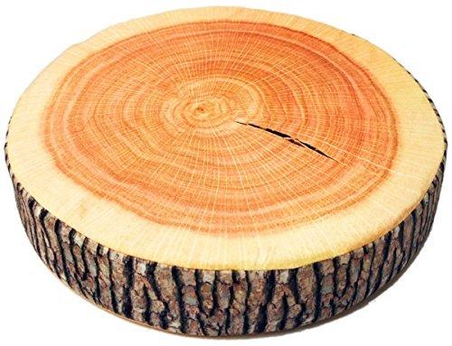 RoomClip商品情報 - 気分 は森の中 くつろげる やすらぎ クッション 座布団 (切り株, 38cm)