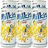 Lotte Milkis Mango Soda - Pack (6 x 250ml)