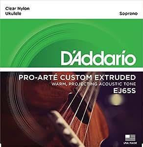 D'Addario ダダリオ ウクレレ弦 Pro-Arté Custom Extruded Nylon Soprano EJ65S 【国内正規品】