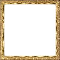 同志舎 正方形額縁 梅小紋 アクリル仕様 (20角, 金)