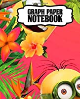 Notebook: Cartoon Kevin, Stuart and Bob Funny Gru Despicable Me Minions Banana Animation Taking Notes, Notebook Workbook For School Teens & Children Writing, Journal, Diary Teenage Graph Paper Composition Notebook, Journal, Diary • One Subject • 110 Pages