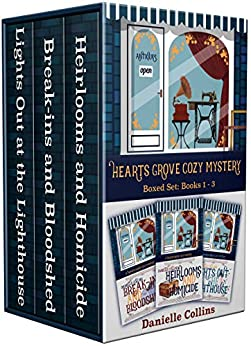 Hearts Grove Cozy Mystery Boxed Set: Books 1 - 3 by [Collins, Danielle]