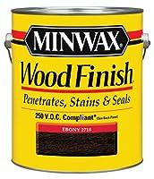 Minwax 71096 1-Gallon Ebony Oil Based Interior Stain by Minwax