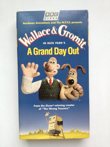 A Grand Day Out  [Import] [VHS]ビデオ (Wallace & Gromit)