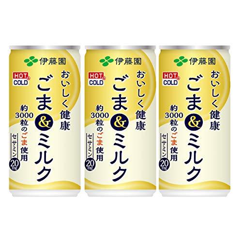 伊藤園 おいしく健康 ごま&ミルク 190g×3本